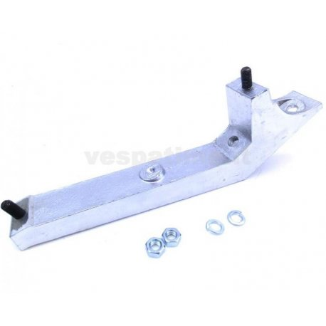 Spare wheel holder support for vespa 50 special first series three speed gears with 9-inch rim