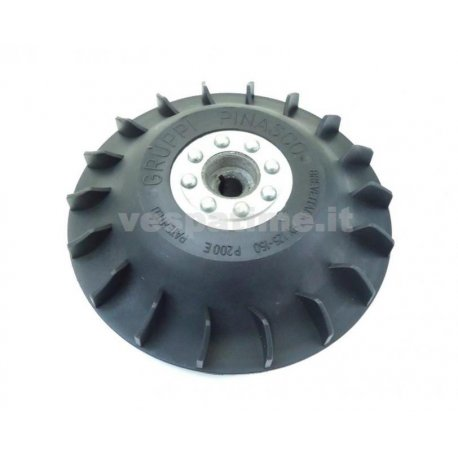 Magneto flywheel lightened pinasco, vespa px125, px150, pe200, for electronic ignitions