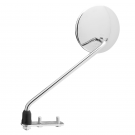 Promotion: rh short stem chrome-plated mirror with 30-cm bar and handlebar fastening bracket