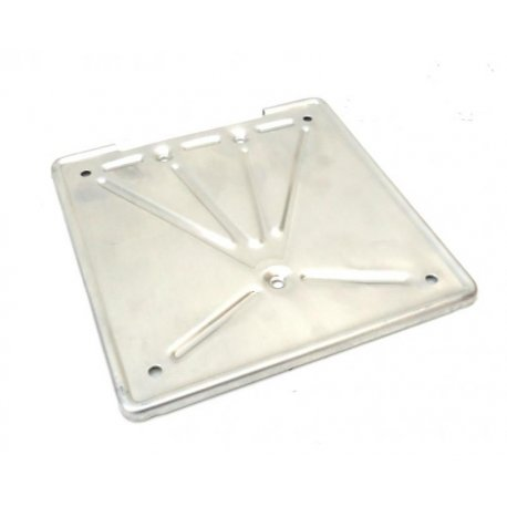 Number plate holder aluminium for vespa 150 gs all series and 160 gs