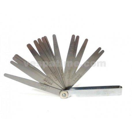 Feeler gauge from 0.05 to 1.00 mm