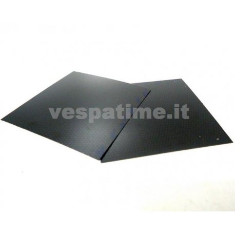 Set of two carbon fibre plates - polini