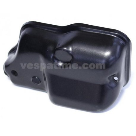Cover carburettor black as original for vespa px with oil pump mixer