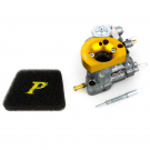 Carburettor pinasco si 20/20 vrx with funnel machined from solid without mixer