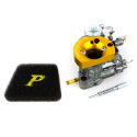 Carburettor pinasco si 22/22 vrx-r with funnel machined from solid with mixer