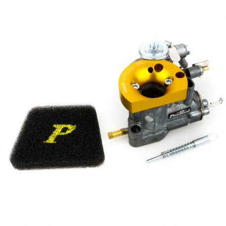 Carburettor pinasco si 22/22 vrx-r with funnel machined from solid without mixer