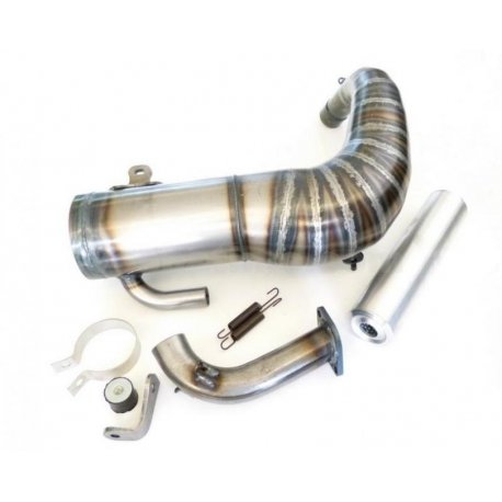 Expansion muffler quattrini m200, specific for cylinder smallframe 200cc