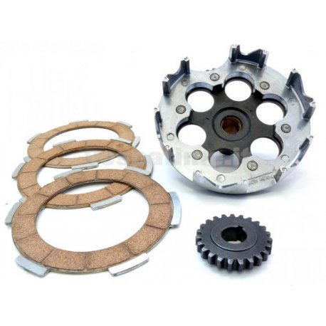 Gear ratio primary increased straight teeth polini for vespa 125 primavera/et3, pk/ets/xl z: 23-60