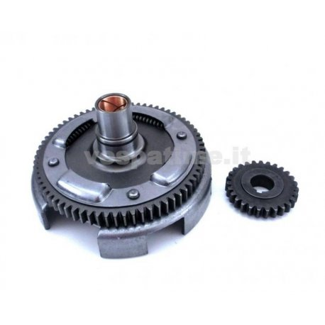 Bell gear ratio primary straight teeth olympia with primary driven gear for vespa 50-125 primavera/et3, pk/ets z: 27-69