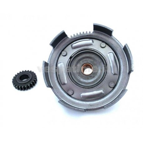 Bell gear ratio primary straight teeth olympia with primary driven gear for vespa 50-125 primavera/et3, pk/ets z: 24-72