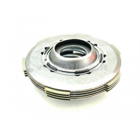 Clutch assembly set with 7-disc set and reinforced spring for vespa 50/125 primavera/et3/pk