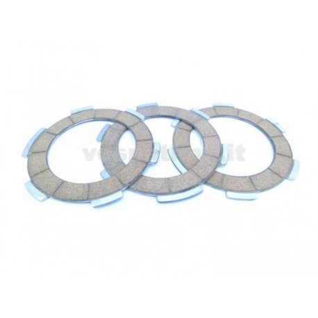 Set of clutch plates polini, 3 cork discs