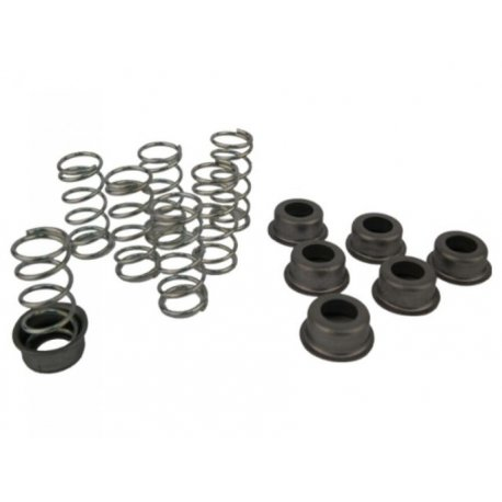 Kit seven reinforced springs and plates pinasco for vespa px-pe