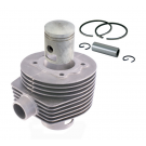 Cylinder and piston RMS cc 150 for vespa PX, five ports