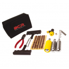 TUBELESS tire repair kit - with CO2 cylinder
