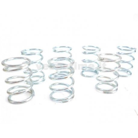 Kit six reinforced springs malossi for vespa px-pe
