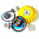 PARMAKIT ignition 20mm cone for Vespa SMALLFRAME, 1-kg flywheel - YELLOW
