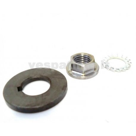 Kit nut, washer, spacer clutch vespa largeframe, drt