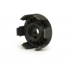 Hub spider clutch BGM SUPERSTRONG entirely machined from solid for Vespa Smallframe