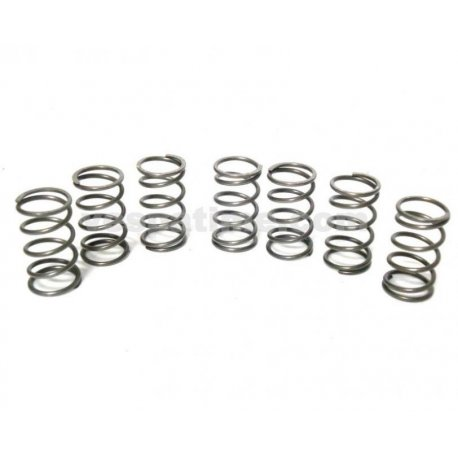 Set of seven reinforced clutch springs for clutch px200 all series, vespa180/200 rally, px 125 t5, 180ss, 160gs