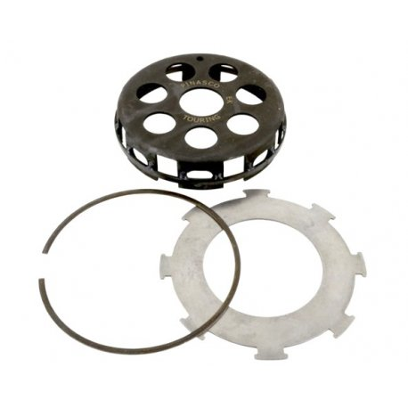 Bell clutch pinasco with reinforcement ring, 7-spring clutch