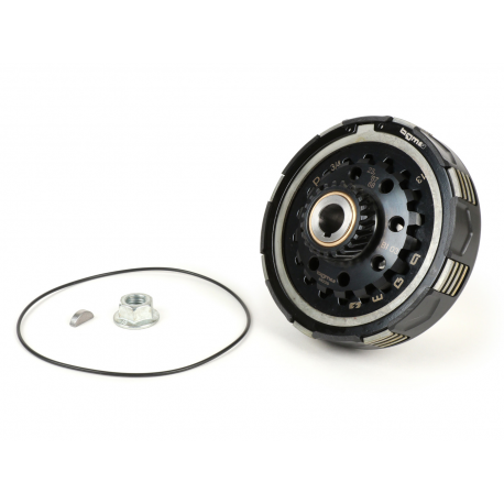 Clutch BGM PRO SUPERSTRONG CNC 2.0 CR80 Ultralube for Vespa PX-'98-MY-COSA, Z23 teeth, 10 spring, primary Z67/68