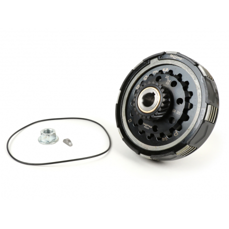 Clutch BGM PRO SUPERSTRONG CNC CR80 for Vespa PX-'98-MY-COSA, Z22 teeth, 10 spring, primary Z64/65
