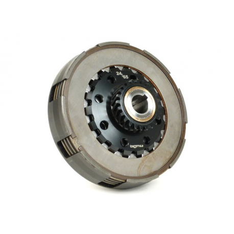 Clutch BGM PRO SUPERSTRONG CNC for Vespa PX-'98-MY-COSA, Z24 teeth, 10 spring, primary Z64/65