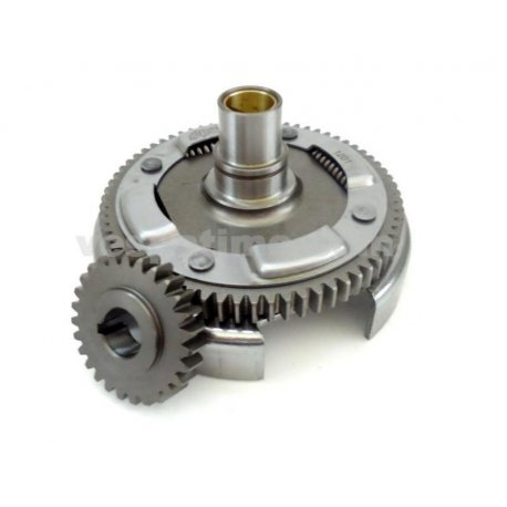 Bell gear ratio primary straight teeth polini with primary driven gear for vespa 50-125 primavera/et3, pk/ets z: 24-72