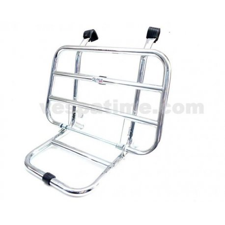 Universal front luggage carrier with small legs for all vespas