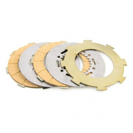 Clutch plates pinasco, cork for 7-spring clutchsprings
