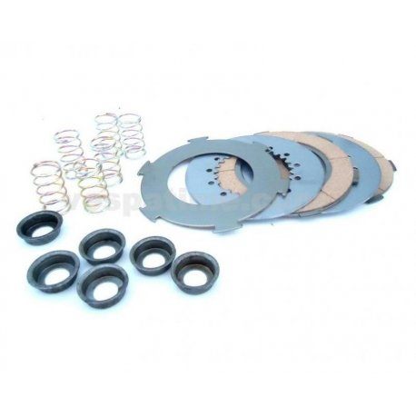 Kit clutch plates and springs pinasco for vespa px125/150, vnb, sprint, gt, ts