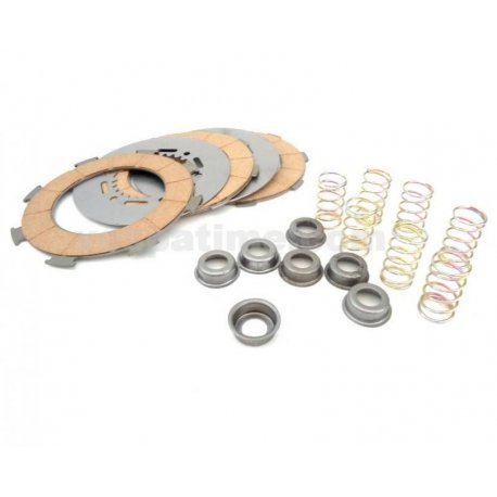 Kit discos embrague y muelles pinasco para vespa px200, rally 200