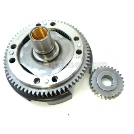 Bell gear ratio primary drt 24-72 straight teeth with processed basket and reinforced primary driven gear