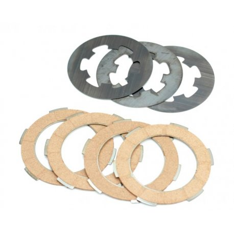 Kit clutch plates vespa smallframe for single-spring clutch