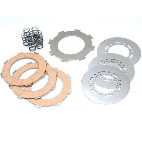 Set clutch plates cork polini vespa largeframe 200
