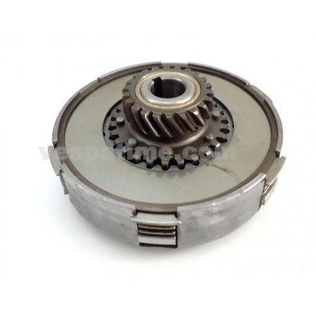 Set clutch with 6 springs, 7 discs z20 for vespa largeframe 125/150