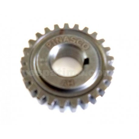 Gear pinion 25 teeth pinasco for primary 24-72 straight teeth