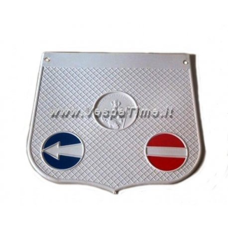 Mud flap san cristoforo model white