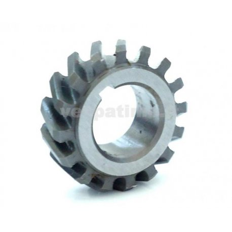 Gear cog for bell clutch pinasco, increased gear vespa 50, bell 14/69 e 15/69