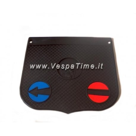 Mud flap san cristoforo model black