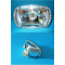 Headlamp DRT Vespa 50 special, 50 elestart - with lamp holder for dazzling and low beam light