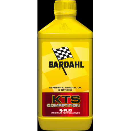 6 bottles - Oil BARDAHL KTS COMPETITION - 100% synthetic - 1000ml
