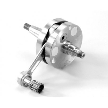 Crankshaft polini evolution full shoulders for vespa smallframe, stroke 52.8, connecting rod 102, cone 20