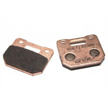 Brake pads r&d sinterised for caliper stage6 with 4 caliper pistons