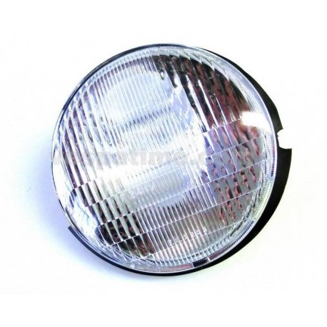 Headlamp without lamp holder for vespa pk 50/125, pk 50 automatic