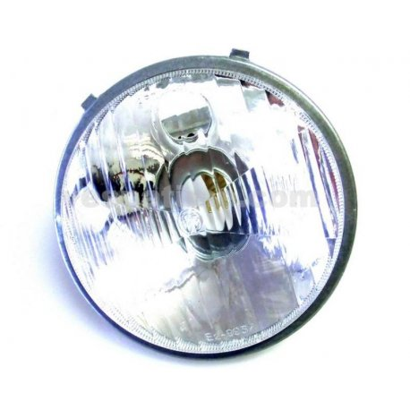 Headlamp set vespa 50 l/r/n round headlamp (plastic glass)