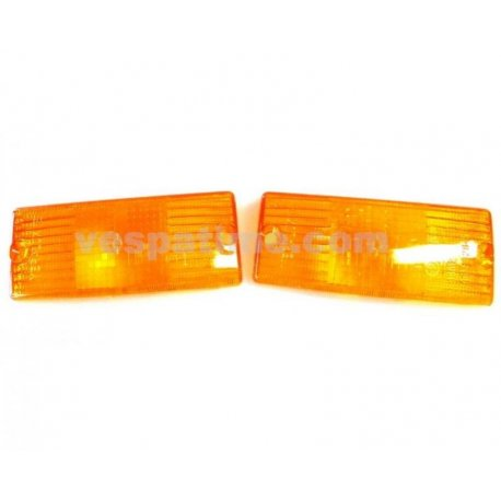 Front lenses for indicators for vespa px 125/150/200 all series, 125 ets, px125t5, pk50/80/125s automatic
