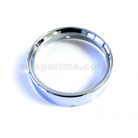 Headlamp chrome ring branded siem ø 130 for vespa 150 sprint veloce, 125 gtr, 125 ts, 180/200 rally