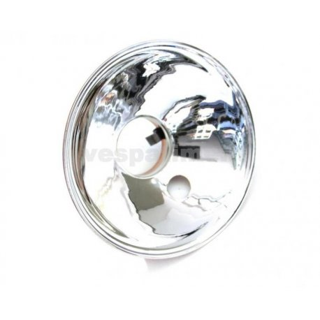 Headlamp reflector two-colour siem hole diameter 105, with small parking light hole